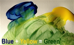 Blue Yellow Green R4 4 5t