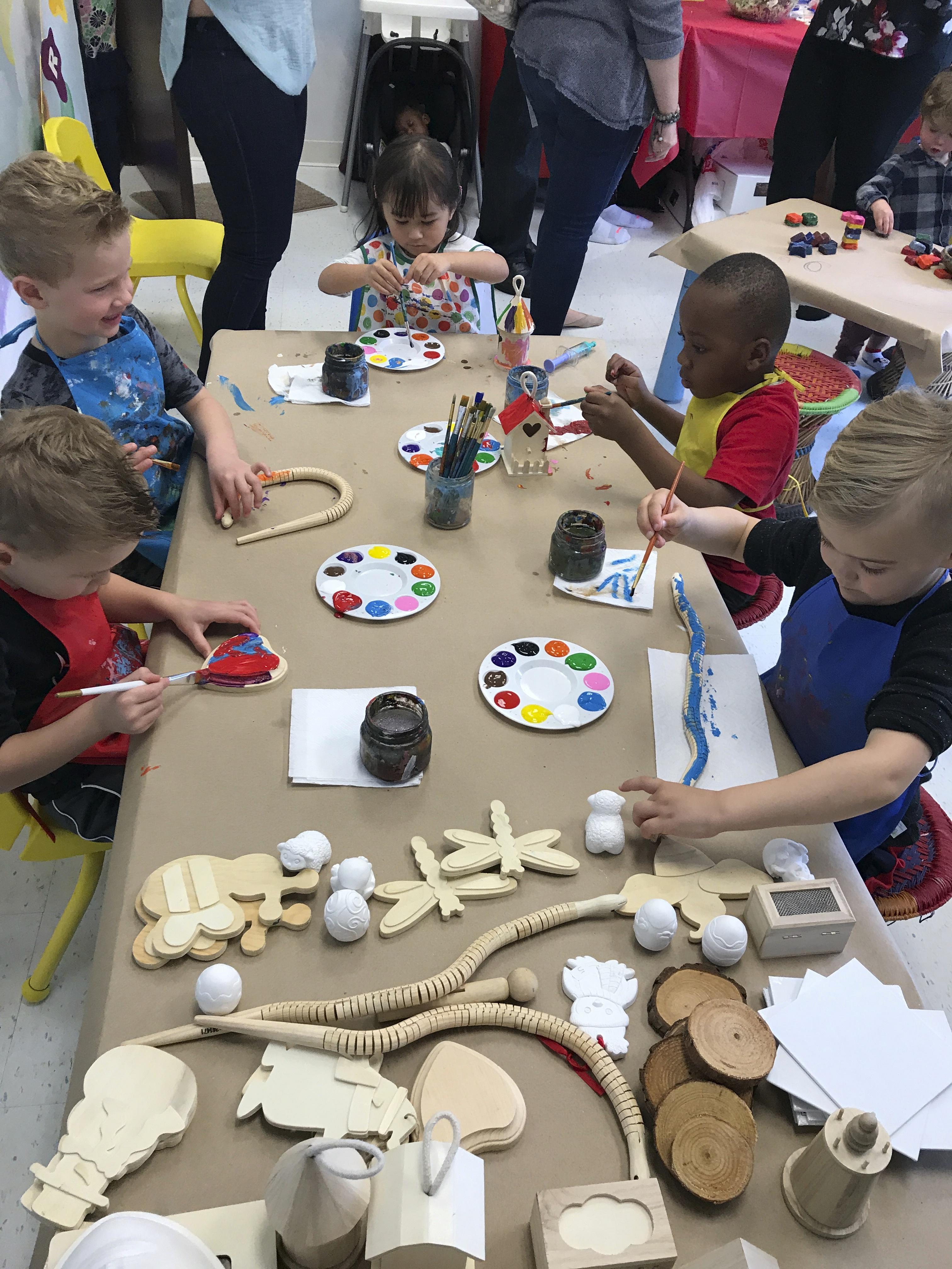 Art Parties For Kids Birthday San Diego