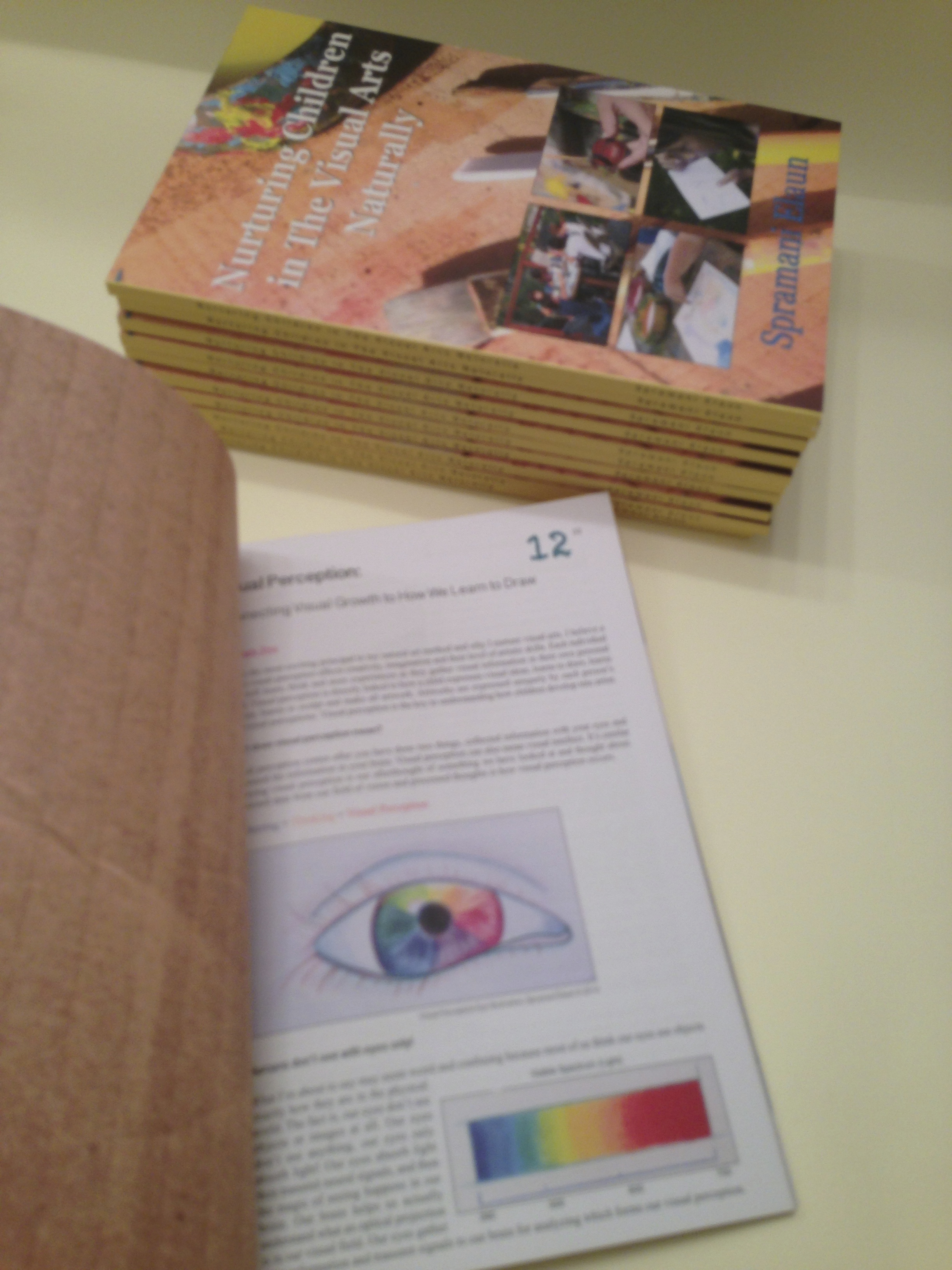 Cultivate Creativity, Book How Children Learn Visual Arts