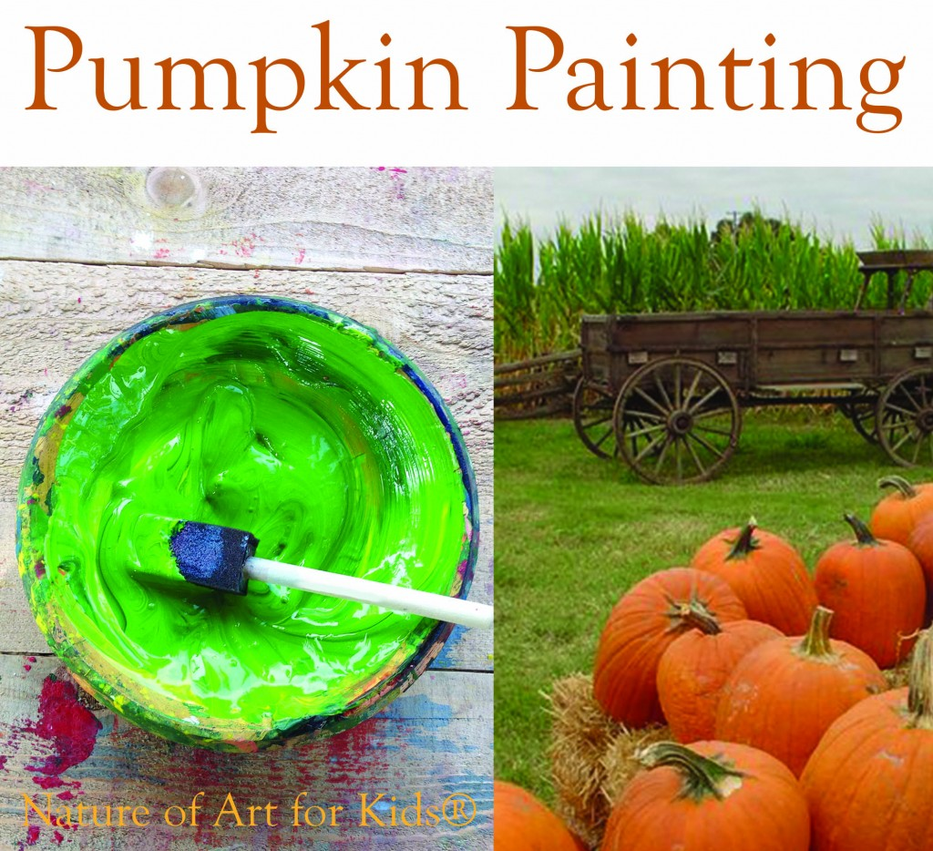Pumpkin Painting Project For Young Kids