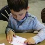 kids crayon rubbing
