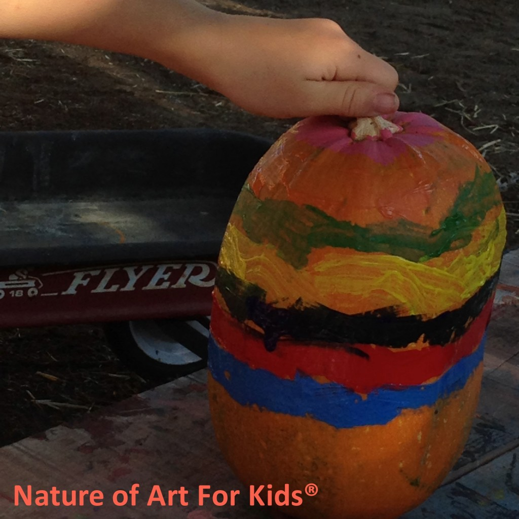 Fall Pumpkin Painting Craft Project For Kids Spramani Elaun