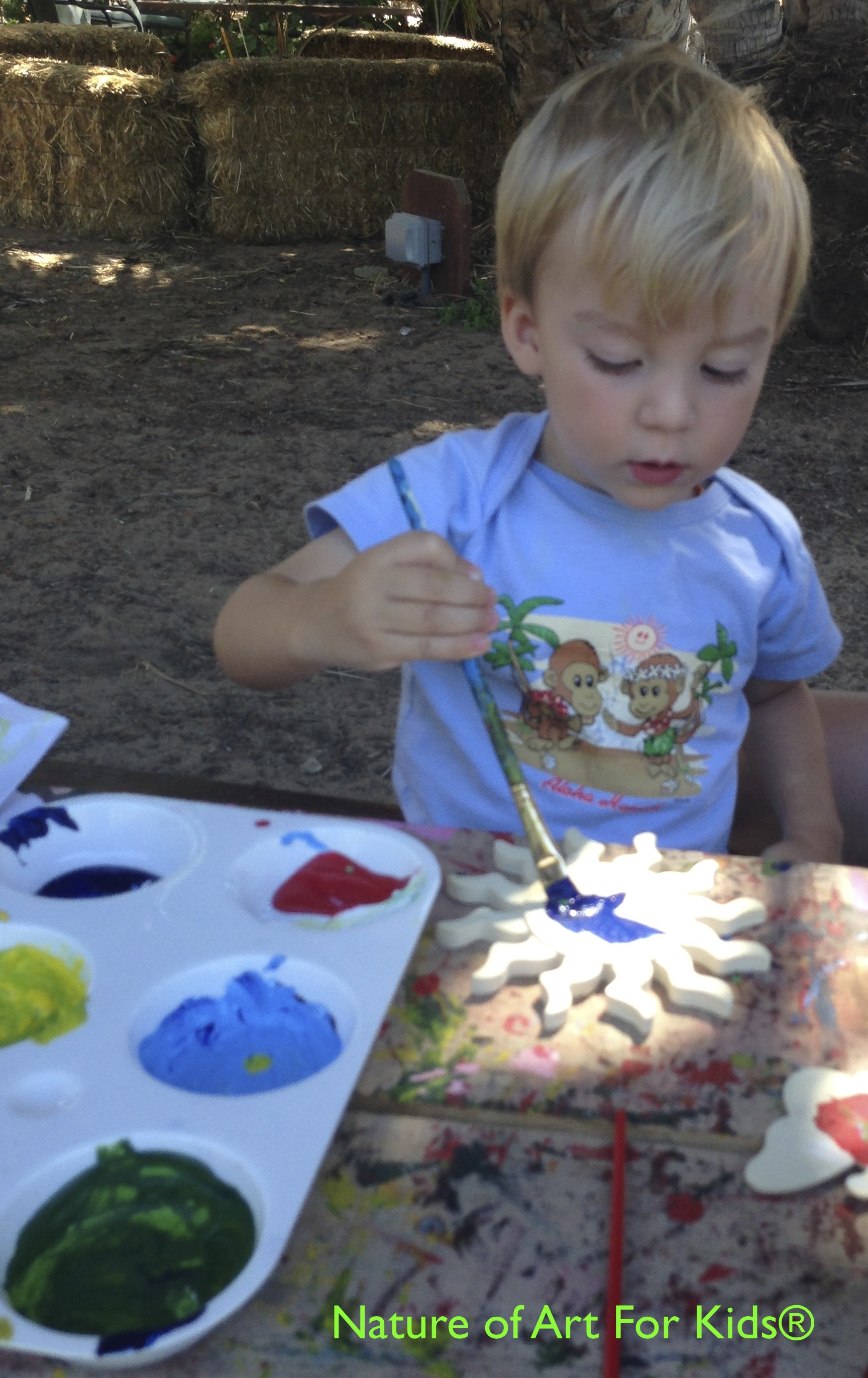 kids painting activities simple lessons