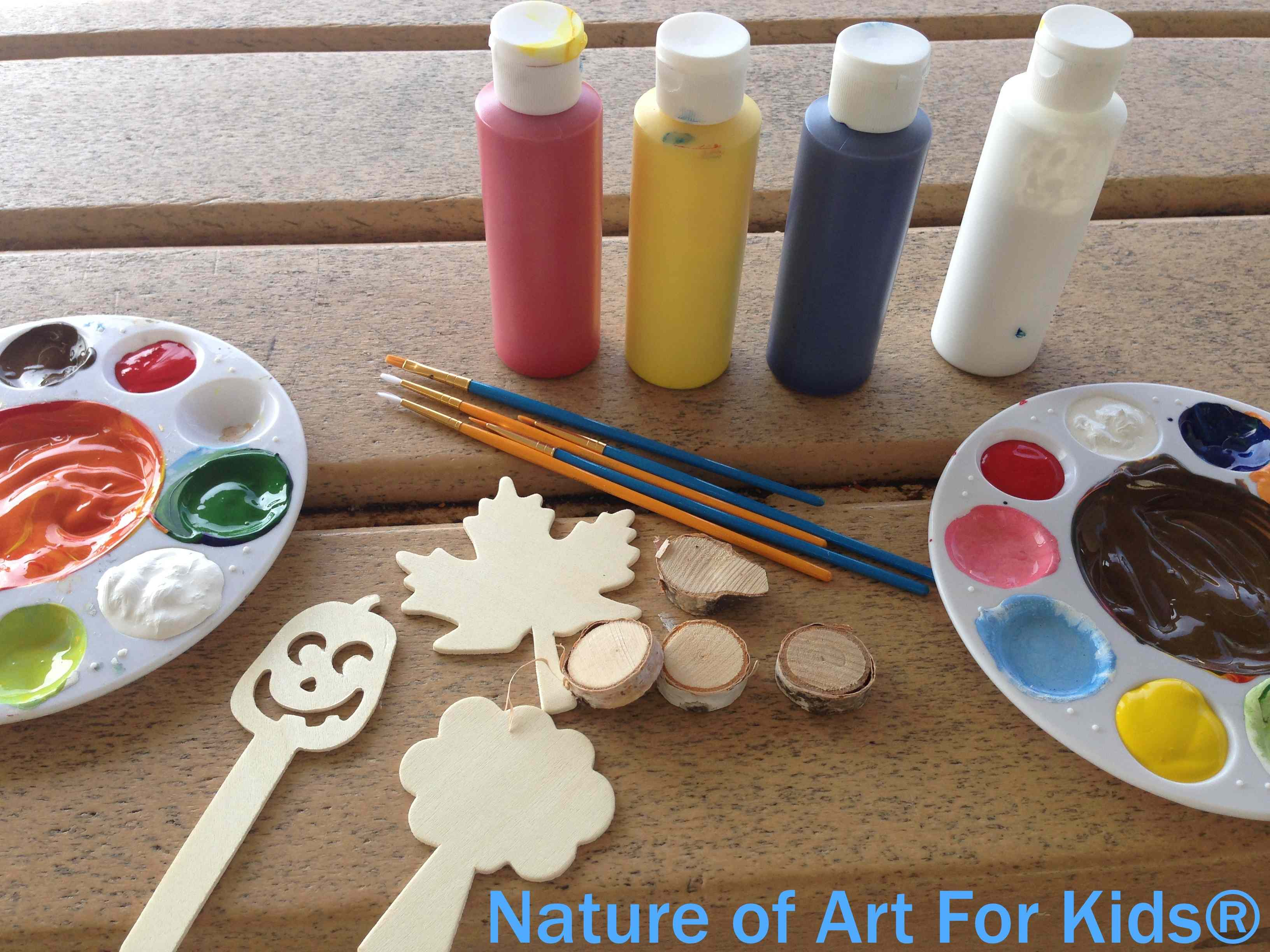 teach kids painting activities and how to paint