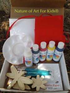Kids Acrylic Paint | Art Projects order box kit