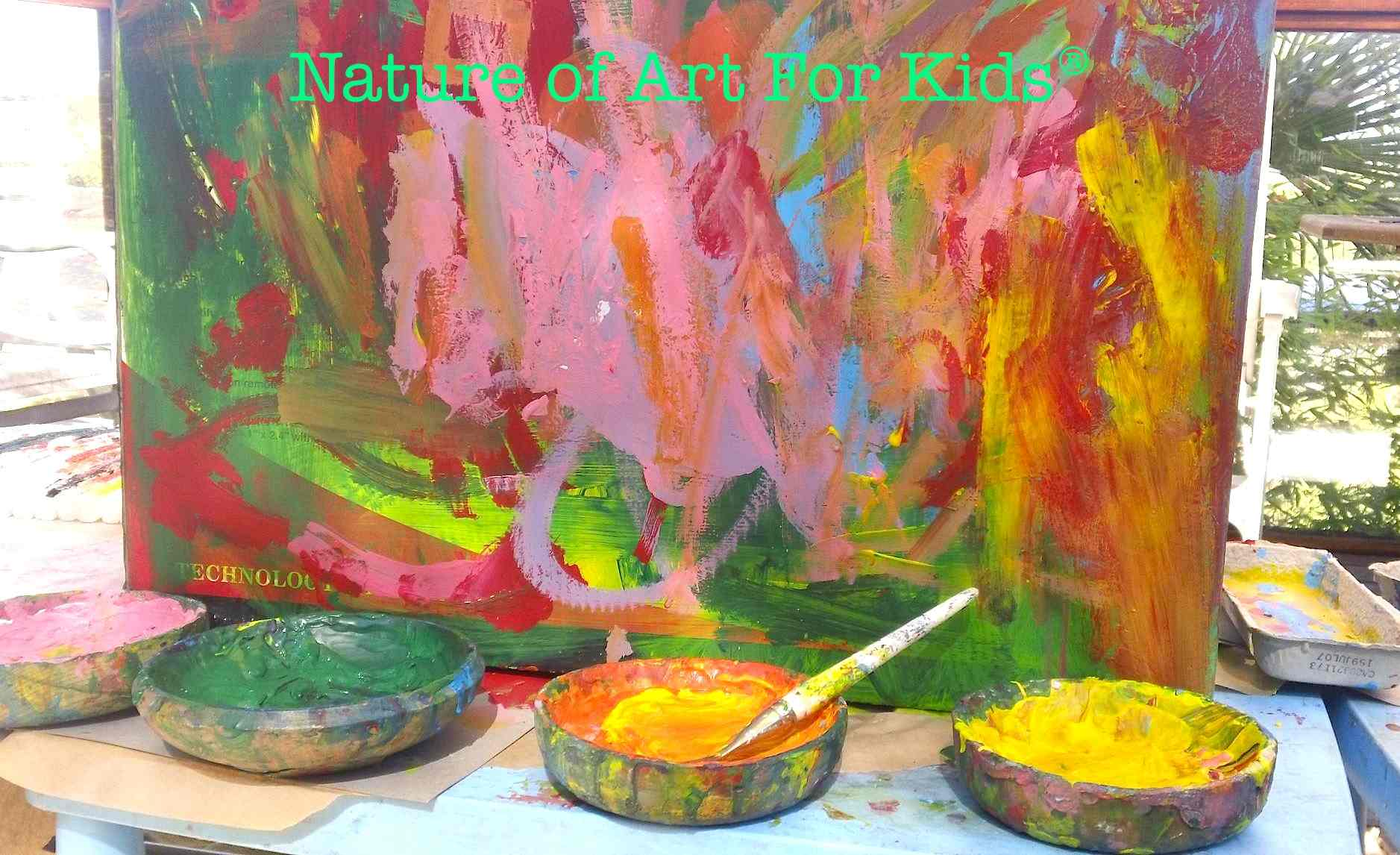 children can learn painting activities