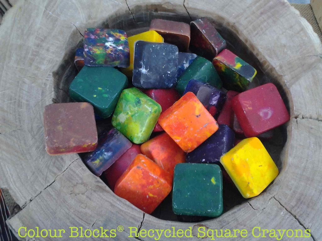 recycled crayons, Earth Day Kids Art Company