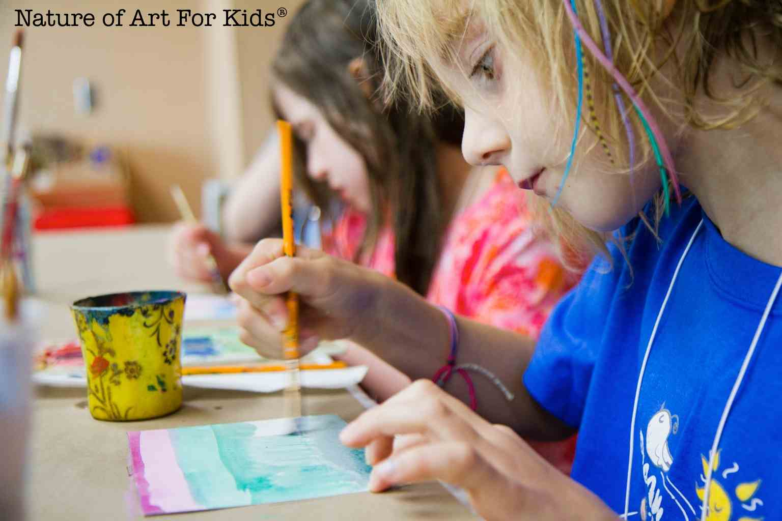 Watercolor Painting Basics for Kids