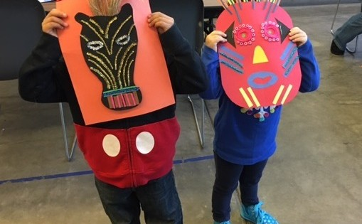 African Mask Craft Project| Kids