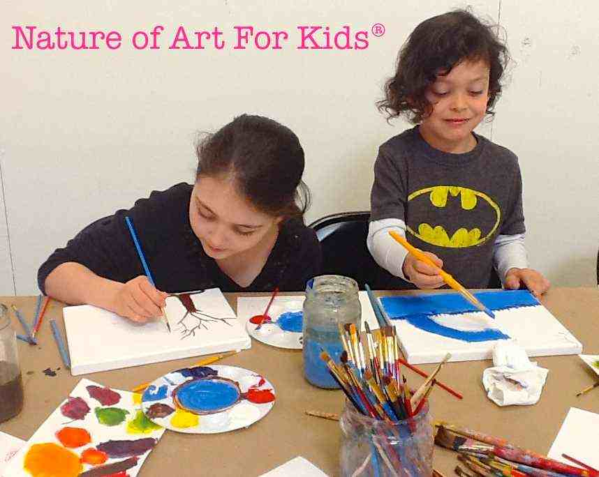 Buy Acrylic Safe Artist Paints For Kids Earth Friendly
