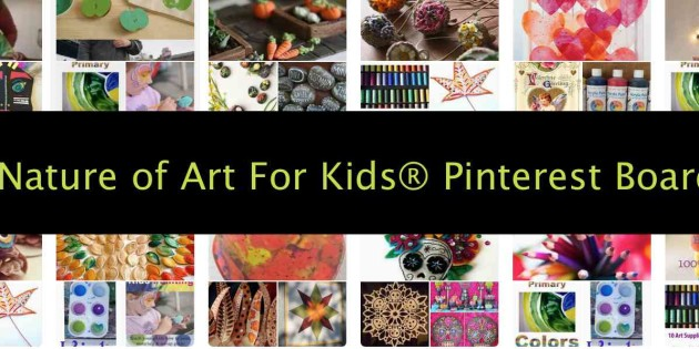Using Pinterest | Kids Art Projects Ideas