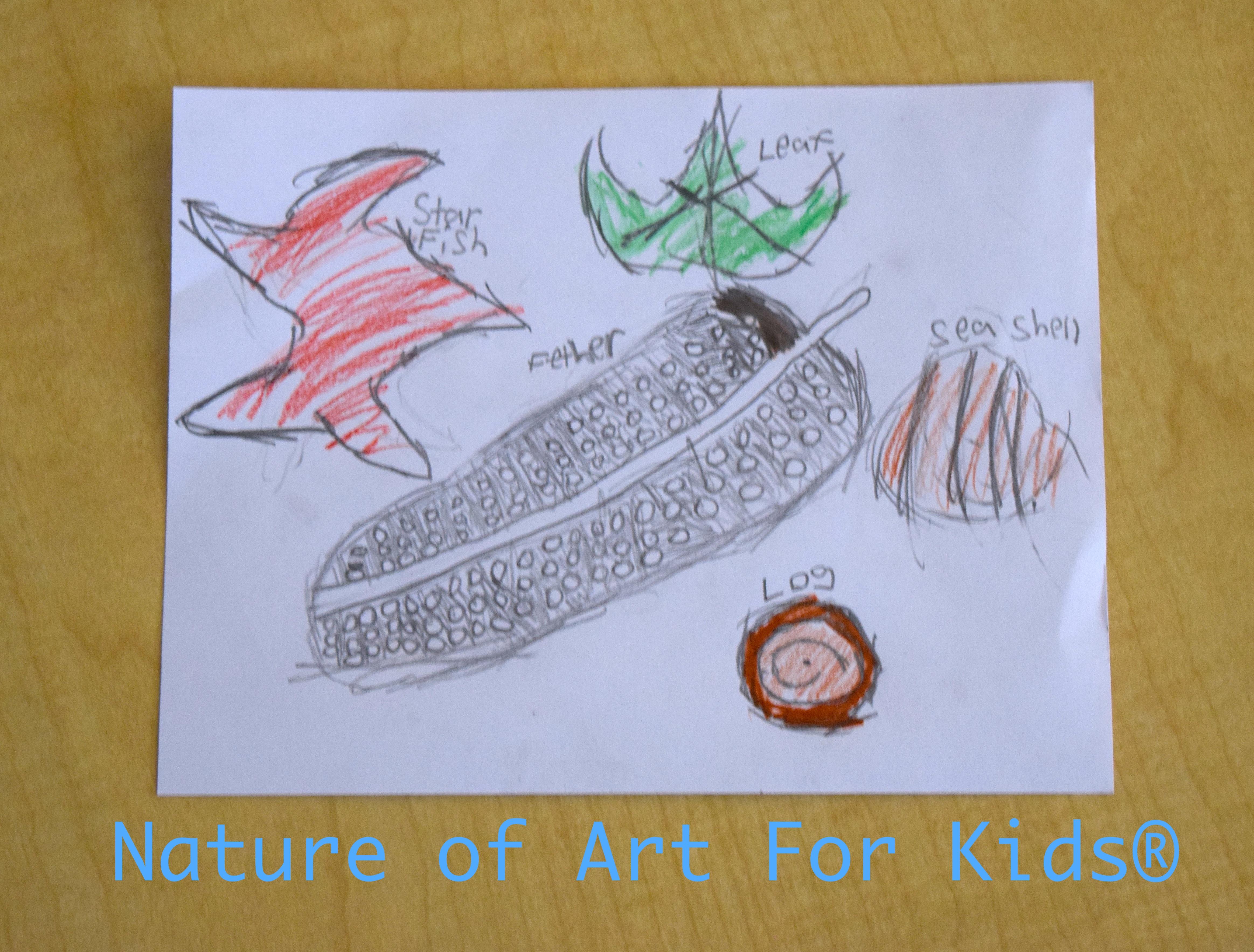 children u0027s sensory drawing lesson u2013 leaf u0026 nature official blog