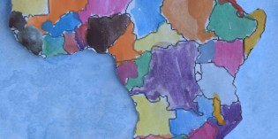 Kids Art Painting | Ocean Water | Map Technique Lessons