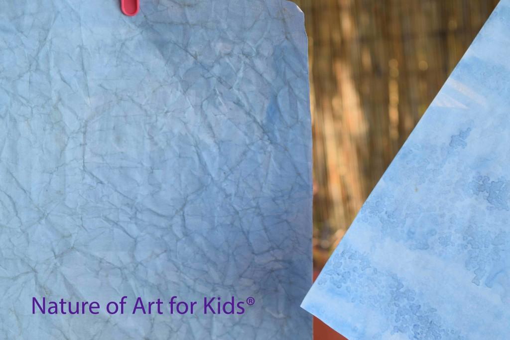 Kids Art Painting | Ocean Water | Map Technique Lessons, spramani art teacher tips