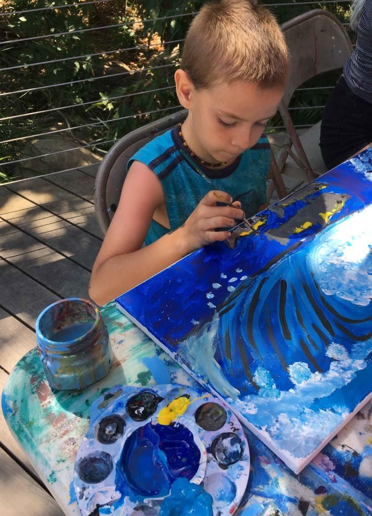 8 Strategies |Supporting Kids Art Doodles & Paintings, talk
