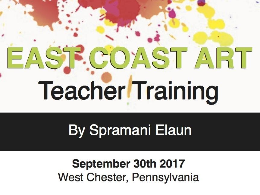 Visual Art Teacher Training   East Coast   Spramani